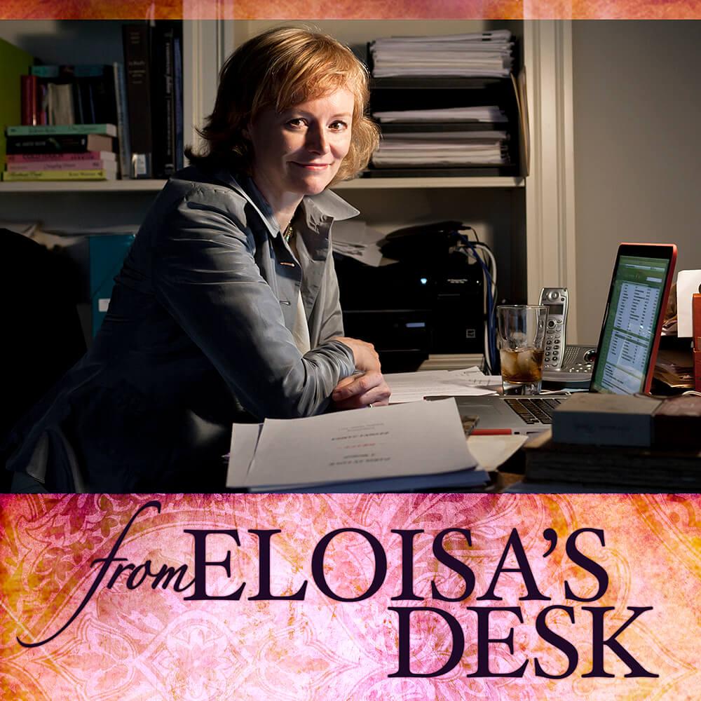 Eloisa's Desk
