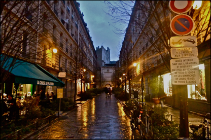 Paris in Rain